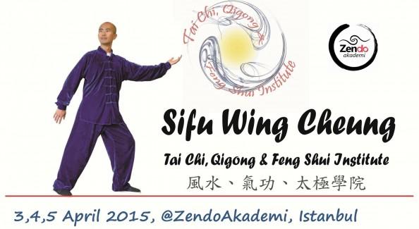 Şifu Wing Cheung ile Tai Chi Çigong Shibashi Eğitimi, 3-4-5 Nisan 2015