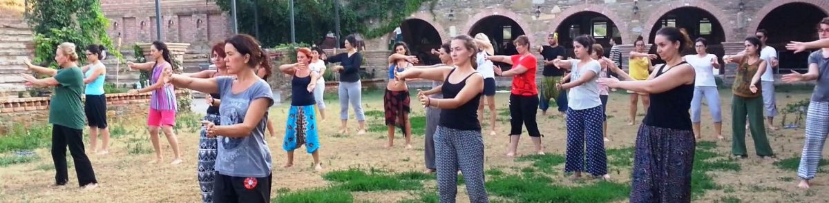 Tai Chi Qigong ile Doğal Sağlık ve Hareketli Meditasyon, 19-21 Temmuz 2019  Tiyatro Medresesi, Şirince