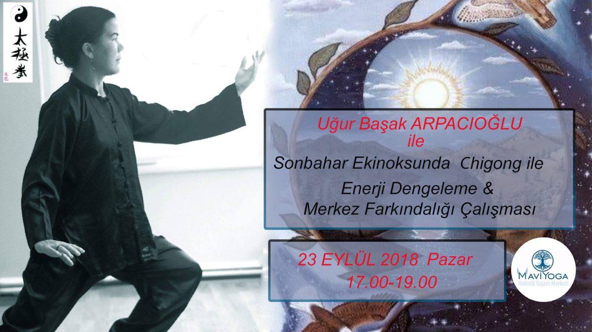SONBAHAR EKİNOKSUNDA CHİGONG, URLA, İZMİR