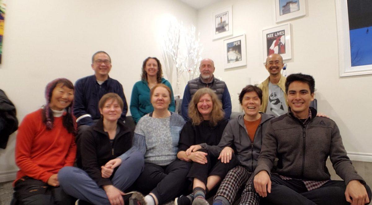 2019 Sifu Wing Cheung ve Üstad Pang ile Toronto, Kanada inzivası