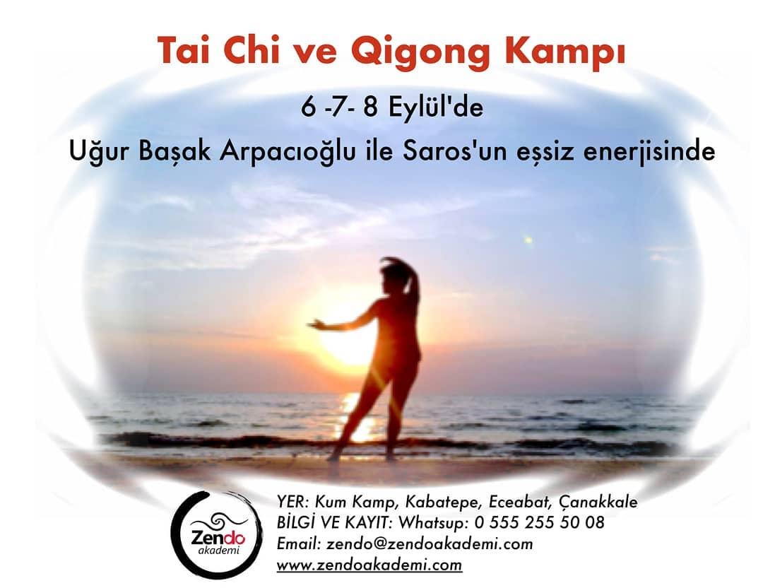 Tai Chi ve Qigong Kampı, 6-7-8 Eylül 2019, Eceabat, Çanakkale